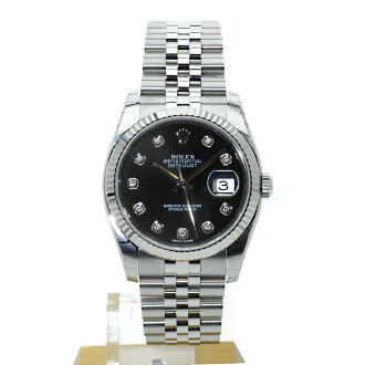 ROLEX オイスターパーペチュアルデイトジャスト 116234G watch SS men