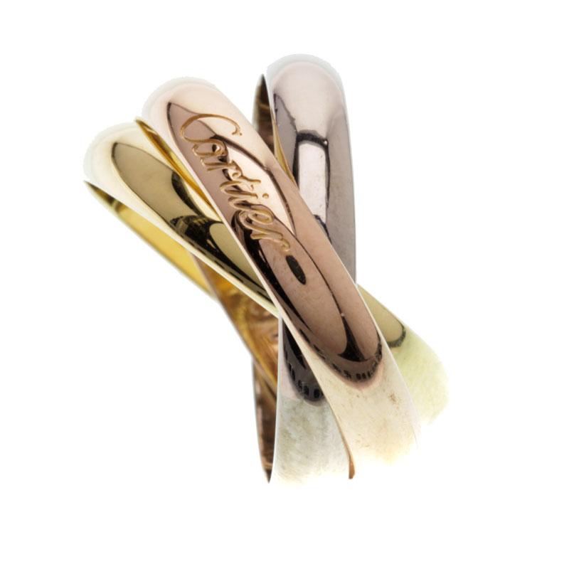 CARTIER【カルティエ】トリニティリング リング K18ゴールド レディース 【中古】:ブランド京の蔵小牧【最安挑戦!】