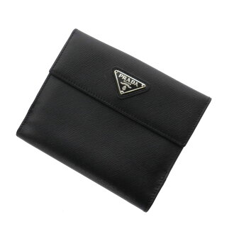 PRADA slim two fold wallets (purses and) calf Womens