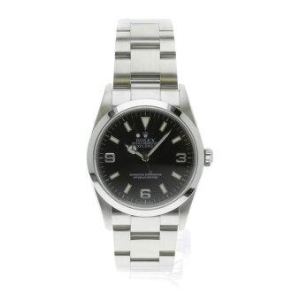 ROLEX114270 Oyster Perpetual Explorer 1 SS men's fs3gm watch
