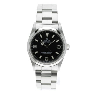 ROLEXRef.14270 Oyster Perpetual Explorer 1 OH an SS mens watches