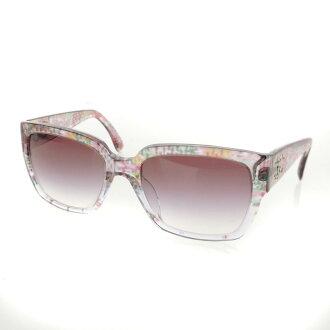 CHANEL here mark sunglasses plastic Lady's fs3gm