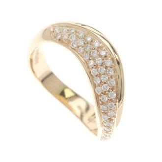 Damiani diamonds ring rings K18 Pink ladies
