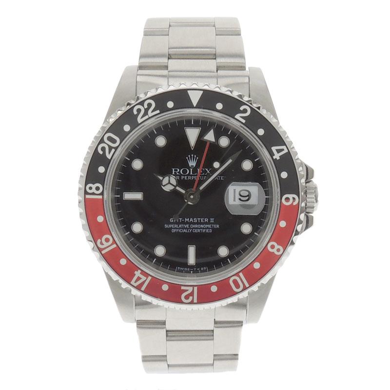 ROLEX【ロレックス】16710 GMTマスター 2 腕時計 SS メンズ 【中古】:ブランド京の蔵小牧【最安挑戦!】