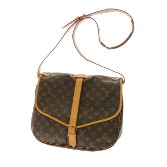 LOUIS VUITTON Saumur L M42254 shoulder bag Monogram Canvas ladies fs3gm
