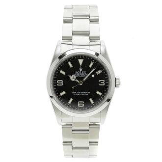 ROLEX14270 Oyster Perpetual Explorer 1 SS mens watch