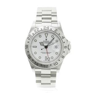ROLEX【ロレックス】16570エクスプローラーII腕時計SSメンズ【中古】【cabdaeah】