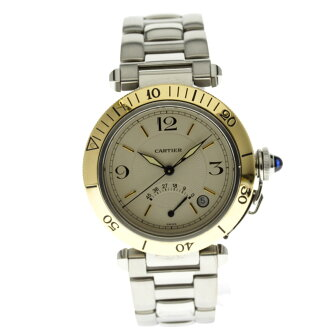 CARTIER Pasha 38 mm OH and outstanding men's watch SS