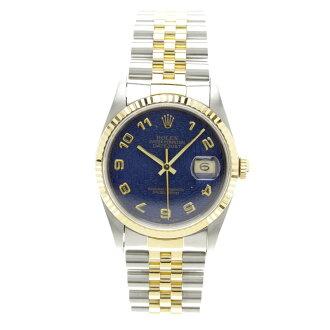 ROLEXオイスターパーペチュアル デイトジャスト 16233 腕時計 K18YG/SS メンズ