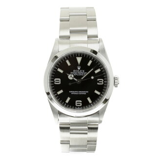 ROLEX Oyster Perpetual Explorer 1 14270 OH and outstanding men's watch SS