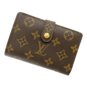 LOUIS VUITTON Porte Monet ビエヴィエノワ M61674 money pouch two fold wallets (purses and) Monogram Canvas unisex