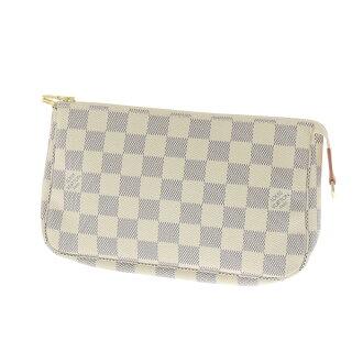 LOUIS VUITTON Accessoires or accessory pouch Damier Canvas Womens