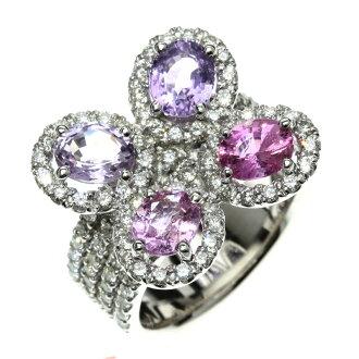 SELECT JEWELRY sapphire / diamond ring K18 white gold Lady's