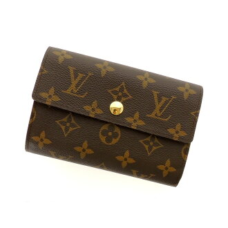 LOUIS VUITTON wallet & Alexandra M60047 two bi-fold wallets (purses and) Monogram Canvas ladies
