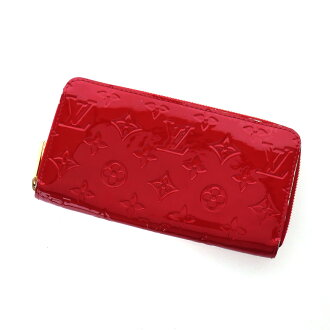 LOUIS VUITTON zippy wallet M91981 wallet (purse and) ladies ' Monogram Verni