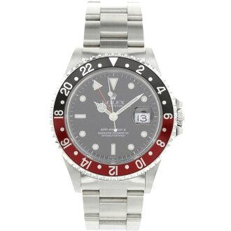 ROLEX16710 GMT Master 2 SS mens wrist watch