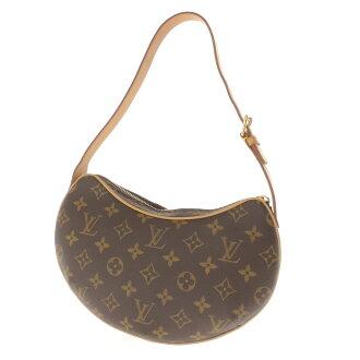 LOUIS VUITTON ポシェトクロワッサン PM M51510 shoulder bag monogram canvas Lady's fs3gm