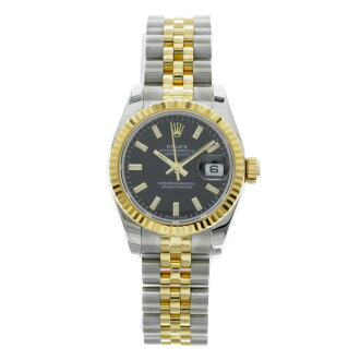 ROLEX179173 Oyster Perpetual Datejust watch K18YG/SS ladies fs3gm