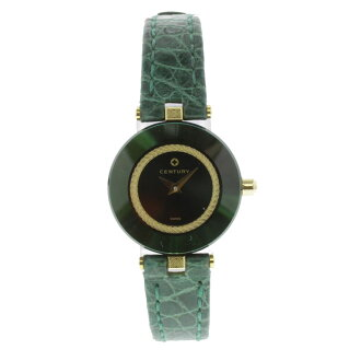 CENTURY Sunbird watch SS / Leather Womens