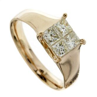 SELECT JEWELRY diamond rings K18 Pink ladies