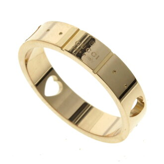 GUCCI icon amor ring K18 pink gold Lady's