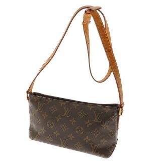 LOUIS VUITTON トローター M51240 shoulder bag monogram canvas Lady's fs3gm