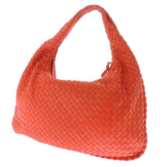 BOTTEGA VENETA intrecciato handbag shoulder bag Leather Womens