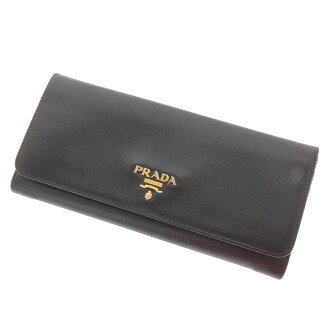 PRADA zip long wallet wallet ( purses and ) Leather Womens