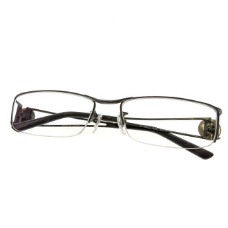 GUCCI logo motif glasses unisex