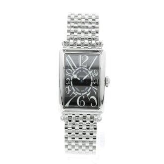 FRANCK MULLER Long Island 902 QZ wristwatch SS Womens