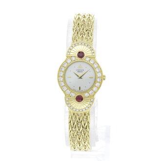SEIKO クレドール 1E70-2160 watch K18YG Lady's