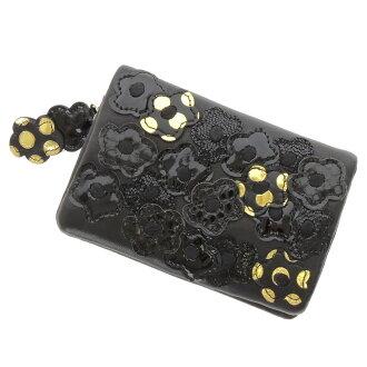 TSUMORI CHISATO Hana Hana patchwork 2 fold wallet ( purses and ) Leather Womens