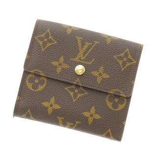LOUIS VUITTON ポルトモネビエカルトクレディ series 2 fold wallet ( purses and ) Monogram Canvas unisex fs3gm