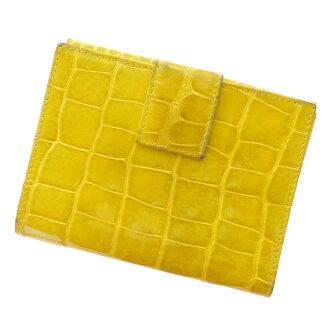 PRADAW hook wallet 2 fold wallet (purse and) enamel ladies