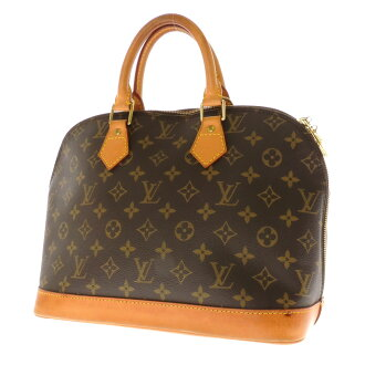 Women's handbags Monogram Canvas, LOUIS VUITTON Alma M51130