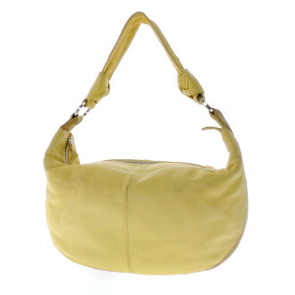 LOEWE semi-shoulder shoulder bag leather Lady's fs3gm