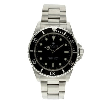 ROLEX Oyster Perpetual Submariner 14060 watch SS mens fs3gm