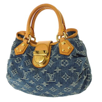 LOUIS VUITTON ブリーティ M95020 handbag denim Womens