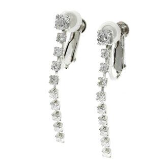 SELECT JEWELRY diamond earrings platinum PT900 Lady's fs3gm