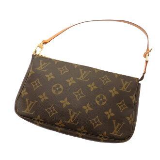 LOUIS VUITTON Accessoires or M51980 accessory pouch Monogram Canvas ladies fs04gm