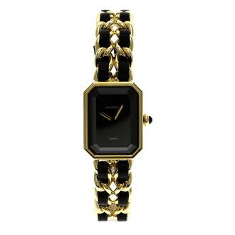 CHANEL プルミエール XL watch GP/ leather Lady's fs3gm