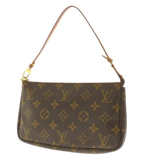 Women's accessory pouch Monogram Canvas, LOUIS VUITTON Accessoires or M51980