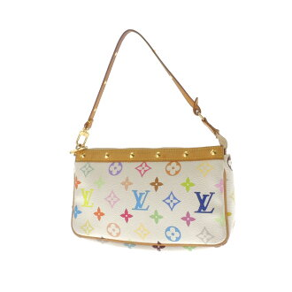 LOUIS VUITTON ポシェットアクセソワール M92649 accessory pouch multi-colored Monogram Canvas ladies fs3gm