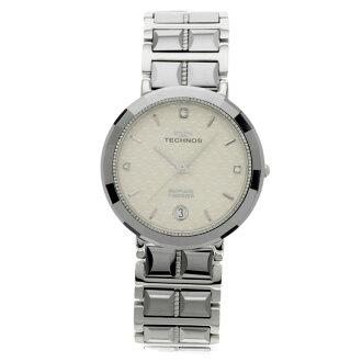 TECHNOS T9091 watch stainless steel / tungsten men