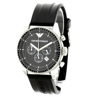 Emporio Armani AR0527 watch stainless steel / rubber men