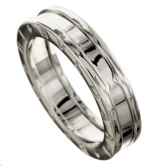 BVLGARI B-zero X ring, ring K18 white gold ladies
