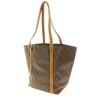 LOUIS VUITTON case shopping M51108 tote bag monogram canvas Lady's