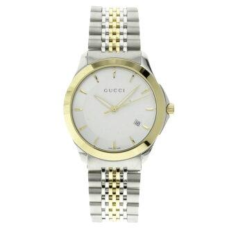 / GA/GP men's stainless steel watch by GUCCI YA126