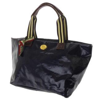 OROBIANCO slim with tote bag nylon x leather unisex