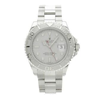 16622 ROLEX yacht master watch platinum /SS men